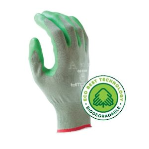 Biodegradable Multi-Purpose Knit Nitrile Gloves