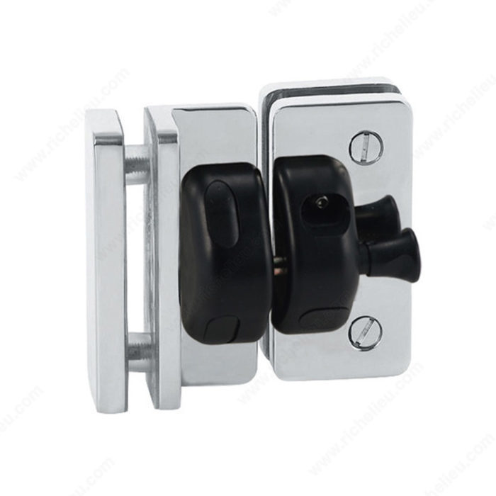 90 Glass To Glass Magnetic Safety Gate Latch Richelieu Glazing Supplies