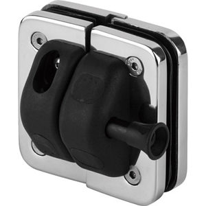 180º Glass-to Glass Magnetic Safety Gate Latch