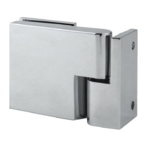 Lift-Off Gravity-Closing 90° Wall-to-Glass Square Hinge