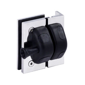 90º Square Post-to-Glass Pool Gate Latch