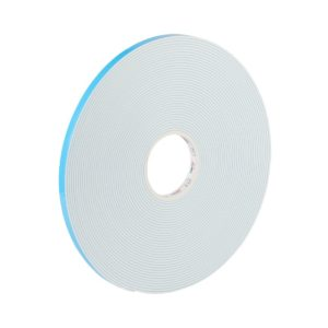 Double-Sided White Foam Tape with Acrylic Adhesive for Glazing