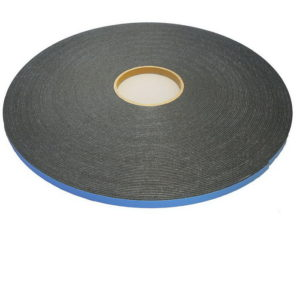 Double-Sided Adhesive High-Density Foam Tape for Glass Glazing - Thickness: 1/4""