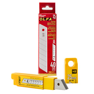 OLFA Replacement Blades HB 25 mm for Self-Retracting Cutter