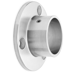Round Tubing Wall Mount Flange