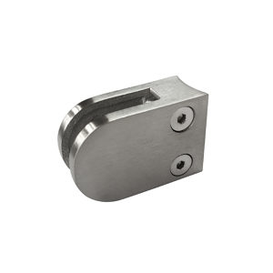 Round Glass Clamp - Round Post Mount - Model 508