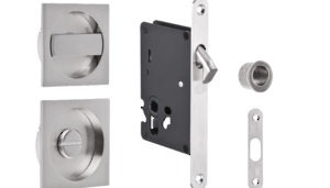Mortice Locks, Latches and Striker Plates for Sliding Doors