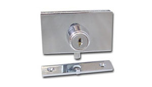 Locks for Glass Doors - Requiring Drilling