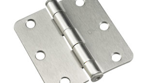 Mortise Hinges with Rounded Edges
