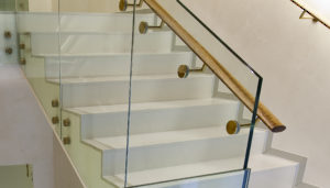 Glass Mount Handrail Brackets