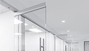 Headers for Glass Partition